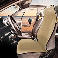 FH GROUP FH1006 Multifunctional Beach, Set of 2 Fitness Towel Car Seat Covers- Fit Most Car, Truck, Suv, or Van