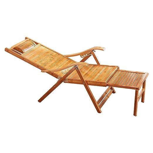 Bamboo Arts Sillones reclinables Sillones de balcón ...