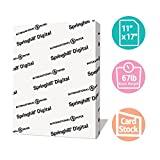 Springhill White Cardstock Paper, 67lb Vellum