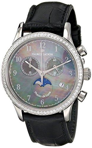 Maurice Lacroix Women's LC1087-SD501-360 Les Classiques Analog Display Analog Quartz White Watch