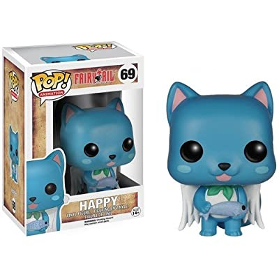 Funko POP Anime: Fairy Tail Happy Action Figure: Funko Pop! Animation:: Toys & Games