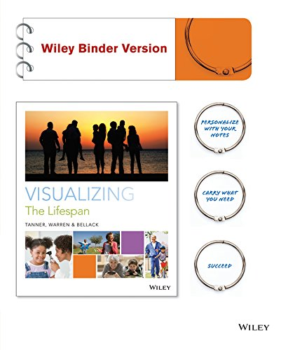Visualizing The Lifespan Binder Ready Version   Wileyplus Learning Space Registration Card  Wiley Plus Products