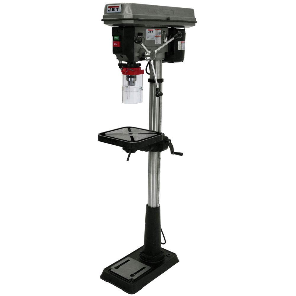 JET J-2500 15-Inch 3/4-Horsepower 115-Volt Floor Model Drill Press