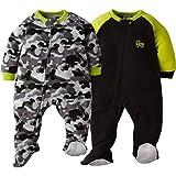 Gerber Baby Boys 2-Pack Blanket Sleeper,