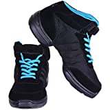 Nene's Collection Women's Dance Fitness Shoes High Top Sneakers