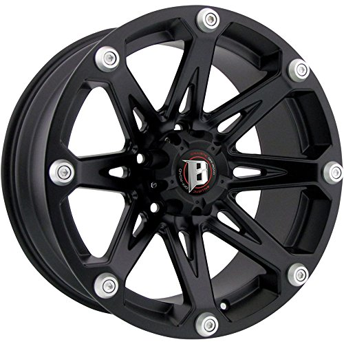 17x9 Rims (Ballistic Jester 17x9 Black Wheel / Rim 5x5 with a -12mm Offset and a 83.70 Hub Bore. Partnumber 814790550-12FB)