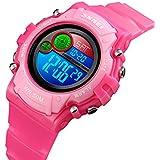 Kids Watch,Girls Digital Jelly Watch Elegant...