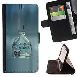 For Samsung Galaxy S3 Mini I8190Samsung Galaxy S3 Mini I8190 - minimalism outside banka fon /Funda de piel cubierta de la carpeta Foilo con cierre magn???¡¯????tico/ - Super Marley Shop -