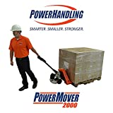 PowerPallet 2000 Mounted Kit: 3,500 pound rated 27'' x 48'' electric pallet jack