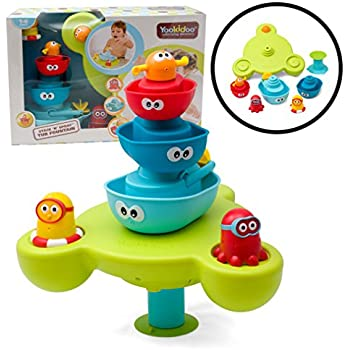 Amazon Com Baby Bath Toy Flow N Fill Spout Three