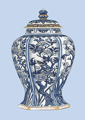 - Custom Blue - White Porcelain Vase I by Vision Studio 14