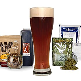 Northern Brewer – Dunkelweizen German Dark Wheat Extract Beer Recipe Kit – Makes 5 Gallons