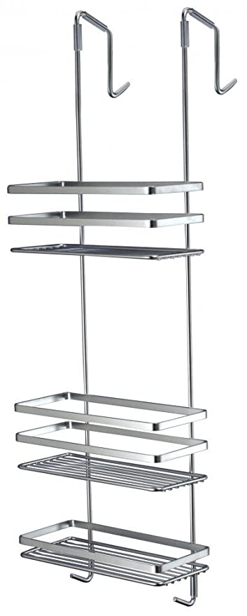 Satina Chrome Hanging Shower Cubicle Tidy Swedish Made 79cm by ...