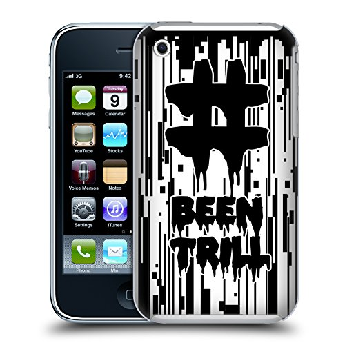 Official Been Trill Pixel Drip Glitch Hard Back Case for Apple iPhone 3G / 3GS
