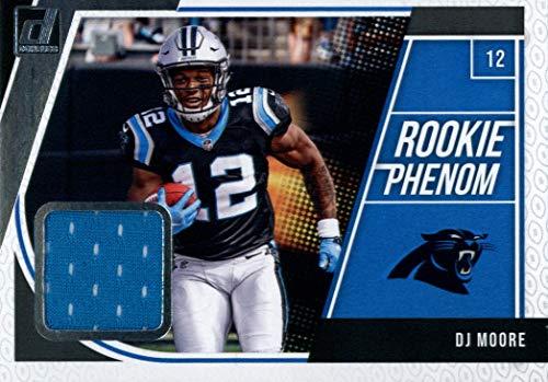 2018 Donruss Rookie Phenom Jerseys #16 DJ Moore MEM Panthers Football NFL from Donruss