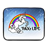 JiedaohO Unicorn Thug Life Large Capacity Computer Bladder Bag