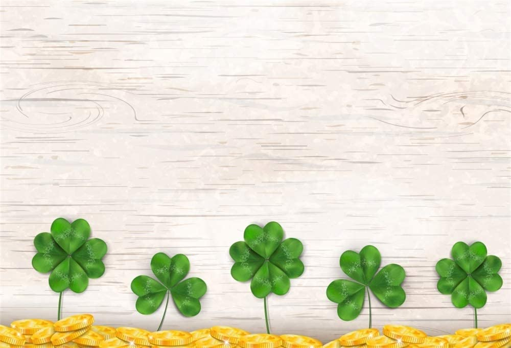 7x10 FT Quatrefoil Vinyl Photography Background Backdrops,Clover Leaves Barb Style Clover Lattice Boho Colorful Kids Themed Background for Photo Backdrop Studio Props Photo Backdrop Wall