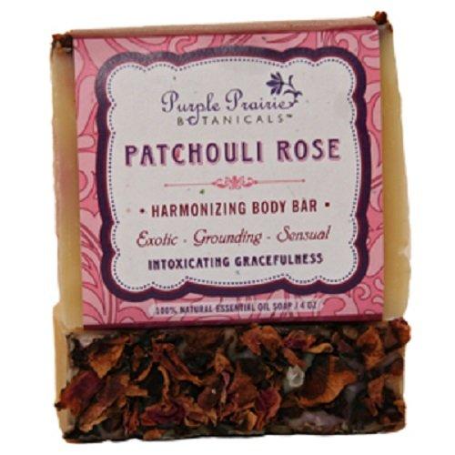 Patchouli Rose Soap Bar - 3 Pack