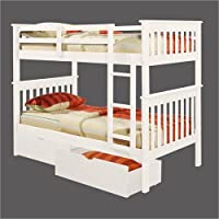 T/T MISSON BUNK BED - WHITE