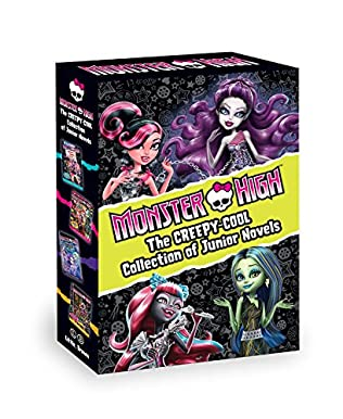 book cover of Monster High: The Creepy-Cool Collection of Junior Novels