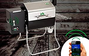 Green Mountain Grills Davy Crockett Pellet Grill – WIFI enabled from legendary Green Mountain Grills
