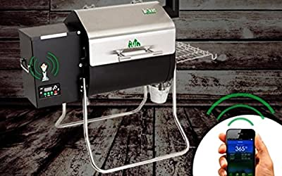 Green Mountain Grills Davy Crockett Pellet Grill – WIFI enabled made by  fabulous Green Mountain Grills
