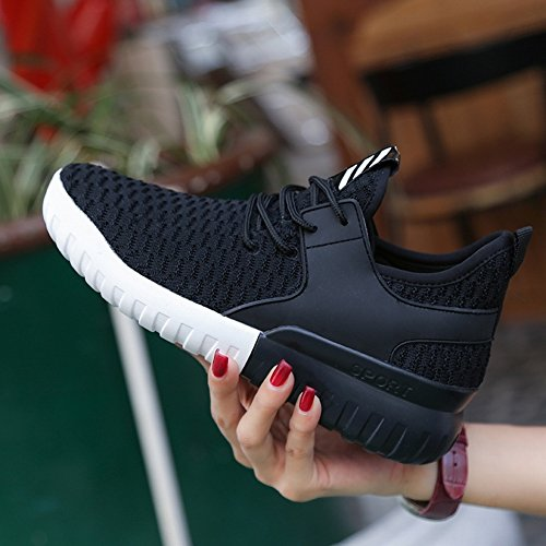 Flying Ladies with Mesh Breathable Shoes Light EUR34 white Shoes Woven Sports 5 Casual qAT6wxA