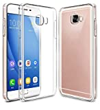 Gioiabazaar Crystal Clear Transparent Hard Back Case Cover For Samsung Galaxy C7 Pro