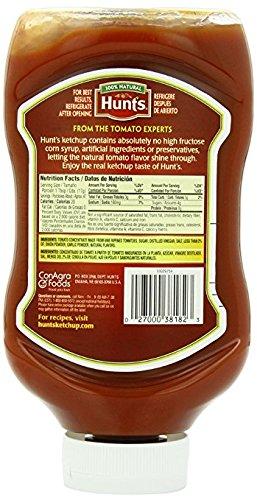 Hunt's 100% Natural Tomato Ketchup, 28 Oz., 2-Count