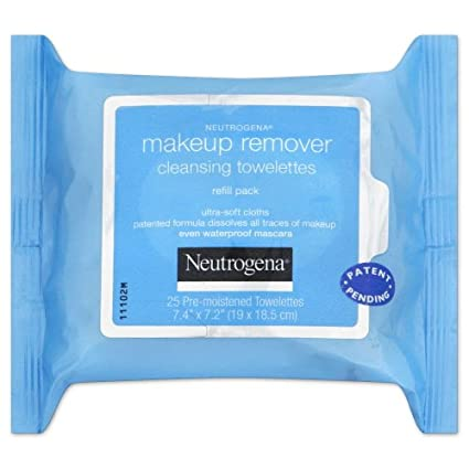 (3 Pack) NEUTROGENA Makeup Remover Cleansing Towelettes 25 Ct