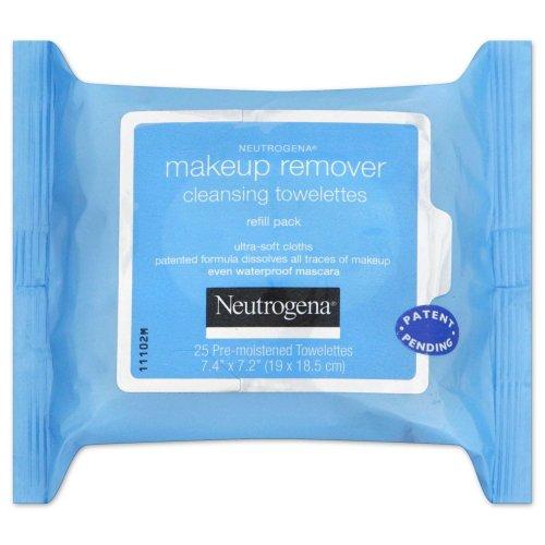 (3 Pack) NEUTROGENA Makeup Remover Cleansing Towelettes 25 Ct: Amazon.es: Belleza