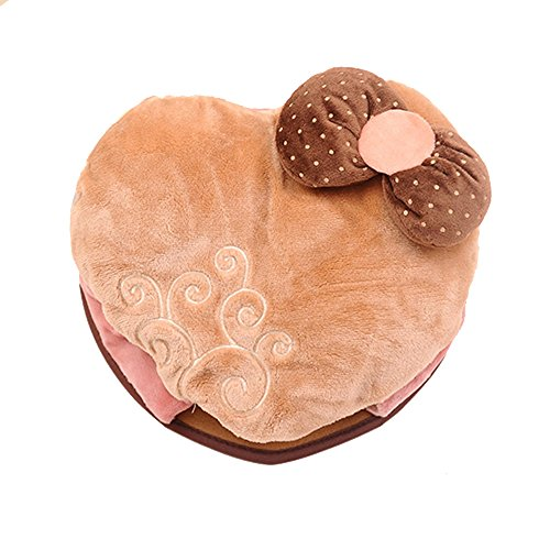 27x24cm Cute Heart Shaped Butterfly Mouse Pad Mouse Mat -