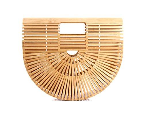 (Summer Beach Bamboo Handbag Bag)