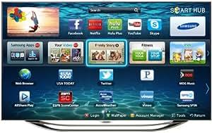 Samsung UN55ES8000 55-Inch 1080p 240Hz 3D Slim LED HDTV (Silver) (2012 Model)