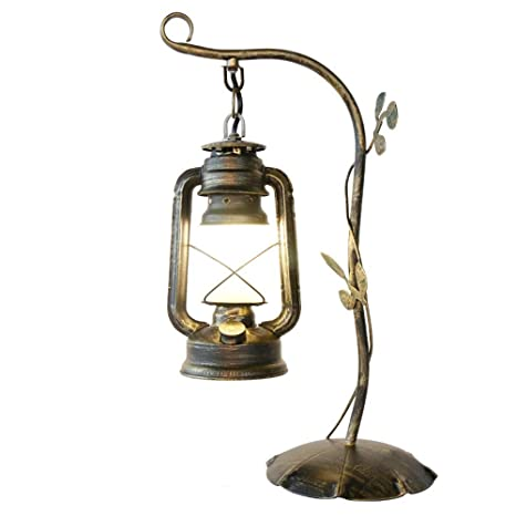 STARAYS Lámpara de Mesa Vintage Lámpara de Mesa de Noche ...