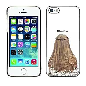 Dragon Case - FOR iPhone 5 / 5S - I'm not even upset - Caja protectora de pl??stico duro de la cubierta Dise?¡Ào Slim Fit
