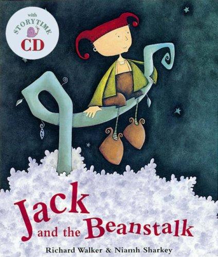 Jack and the Beanstalk (Book & CD): Amazon.co.uk: Richard Walker, Richard  Hope, Niamh Sharkey: 9781905236428: Books