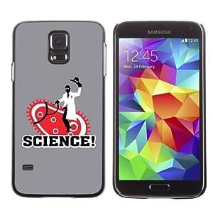 Designer Depo Hard Protection Case for Samsung Galaxy S5 / Sciene