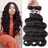 LiangDian HAIR 7A Body Wave Brazilian Hair 3 Bundles 14 16 18inch Brazilian Body Wave Brazilian Virgin Hair Weave Human Hair Extensions