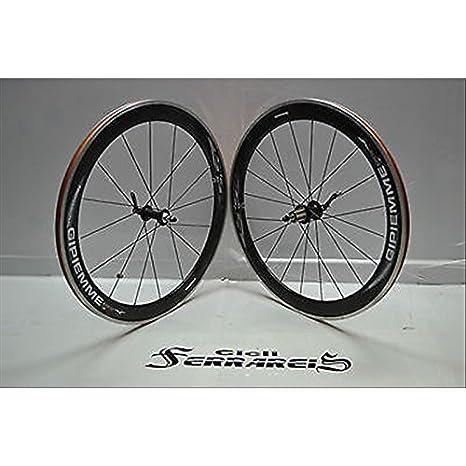 Ruedas Corsa Gipiemme de carbono Equipe H5.5 LG ciclocross Triatlon Crono: Amazon.es: Deportes y aire libre