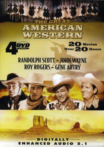The Great American Western: Randolph Scott, John Wayne, Roy Rogers, Gene Autry (Movie Man Of Steel)