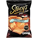 Stacy's Pita Chips, Simply Naked, 1-Ounce Bags (Pack of 48)