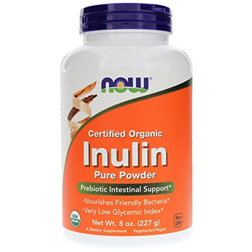 NOW Foods Inulin Prebiotic 8 Ounce