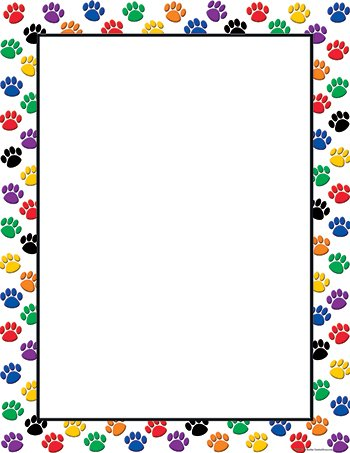 chart poster for classroom blank