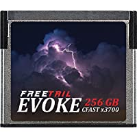 FreeTail EVOKE 3700x 64GB CFast 2.0 Memory Card, Up to 560MB/s (FTCF064A37)