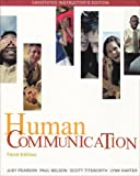 Human Communication, Pearson, Judy C., 0073328839
