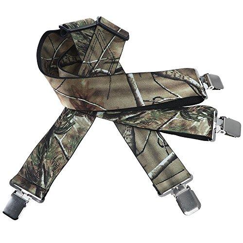 Mens Utility Suspenders X Shape - Wide 2