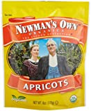 Newman's Own Organics Apricots (Dried Fruit), 6-Ounce Pouches (Pack of 12)
