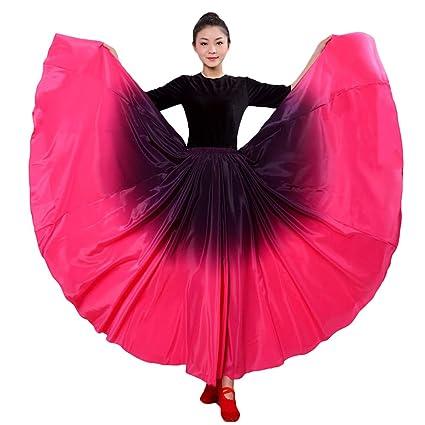 LOLANTA Falda de Baile español para Mujer, Traje de salón ...