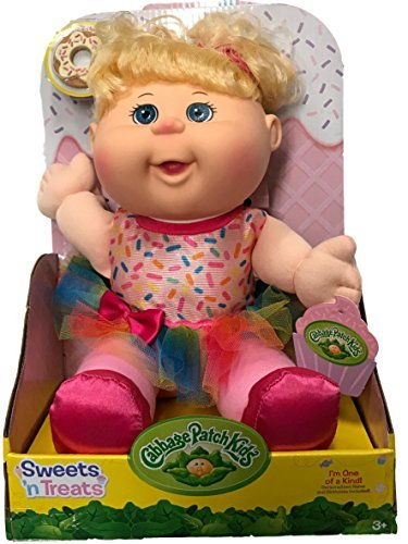 Cabbage Patch Kids Sweets 'n Treats Baby Doll (Blonde, Blue Eyes)